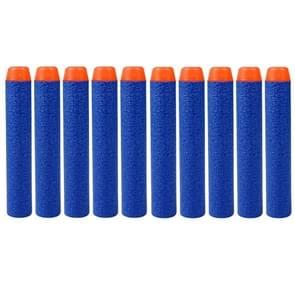 10 PCS 7.2cm EVA Soft Blaster Darts Bullets(Dark Blue)