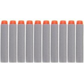 10 PCS 7.2cm EVA Soft Blaster Darts Bullets(Grey)