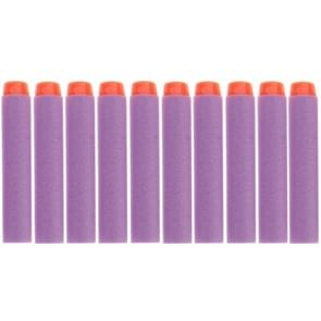 10 PCS 7.2cm EVA Soft Blaster Darts Bullets(Purple)