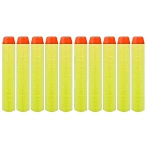 10 PCS 7.2cm EVA Soft Blaster Darts Bullets(Yellow)