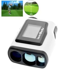 LaserWorks Waterproof Handheld Special Laser Rangefinder Telescope with 1.8 inch External Display for Golf(White)