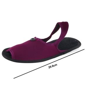 Outdoor Folding draagbare Slippers, Afmeting: L (Scarlet rood)