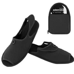 Outdoor Folding draagbare Slippers, Afmeting: L(zwart)