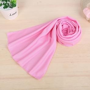 10 PCS Outdoor Sports Protable Cold Feeling Prevent Heatstroke Ice Towel, Size: 30*80cm(Pink)