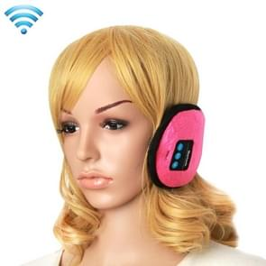 My-Call Bluetooth V3.0 Headset Warm Winter Earmuff for iPhone 6 & 6s / iPhone 5 & 5S / iPhone 4 & 4S and Other Bluetooth Devices(Magenta)