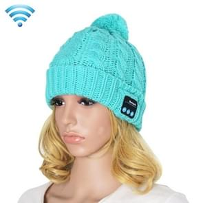 My-Call Bluetooth Headset Beanie Knitted Warm Winter Hat for iPhone 6 & 6s / iPhone 5 & 5S / iPhone 4 & 4S and Other Bluetooth Devices(Blue)