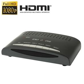 RCA Composite Video & S-Video to HDMI Converter, Support Full HD 1080P