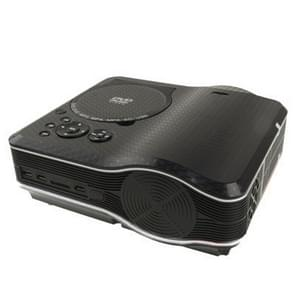 Portable DVD Projector with TV Receiver Function (PAL / NTSC / SECAM), AV IN / OUT and Game Function, Support SD / MMC Card / USB Flash Disk