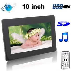 10 inch Digital Picture Frame Support SD / MMC / MS Card and USB(1011B)(Black)