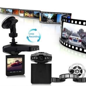 2.5 inch Screen High Definition Video Recorder, 6 LED Light, AVI Video Format, Support SD Card, Loop Recording Function (Generalplus Scheme)(Black)