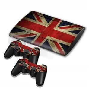 UK Flag Pattern Decal Stickers for PS3 Game Console