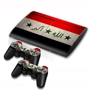 Iraqi Flag Pattern Decal Stickers for PS3 Game Console