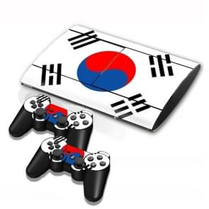 Flag Pattern Decal Stickers for PS3 Game Console