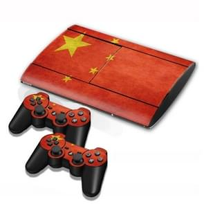 Chinese Flag Pattern Decal Stickers for PS3 Game Console