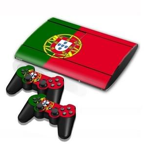 Portuguese Flag Pattern Decal Stickers for PS3 Game Console