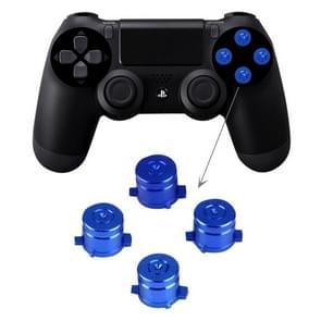 Aluminum Metal Buttons for PS4 9mm Mod Kits Bullet(Blue)