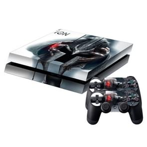 Rings Pattern Protective Skin Sticker Cover Skin Sticker for PS4 Game Console