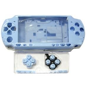 Light Blue Full Housing Shell Cover Case For PSP 2000 (OEM Version)