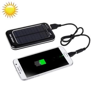 3500mAh Solar Energy Charger for iPhone / iPad / iPod Touch, MP3 / MP4, Digital Camera and other Mobile Phone(Black)