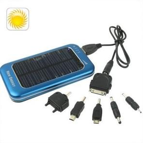 3500mAh Solar Energy Charger for iPhone / iPad / iPod Touch, MP3 / MP4, Digital Camera and other Mobile Phone (Blue)