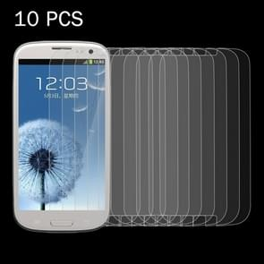10 PCS for Samsung Galaxy SIII / i9300 0.26mm 9H Surface Hardness 2.5D Explosion-proof Tempered Glass Screen Film