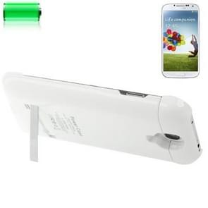3200mAh Portable Power Bank / External Battery with Holder for Samsung Galaxy S IV / i9500(White)