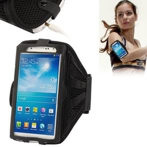 Nylon Material Sports Armband Case for iPhone 6 & 6s, Samsung Galaxy S7 / S6 / S5 / S4 / S3(Black)