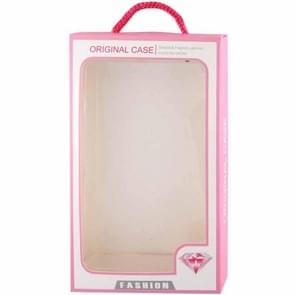 Color Box Packing for Samsung Galaxy S IV / S III / i9500 / i9300 Plastic Case / Bumper Frame / Silicone Case / TPU Case (Pink)