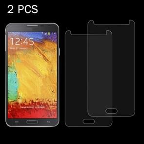 2 PCS for Samsung Galaxy Note III / N900 0.26mm 9H Surface Hardness 2.5D Explosion-proof Tempered Glass Screen Film
