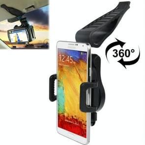 Universal 360 Degrees Rotation Clamp Car Holder for Samsung Galaxy Note III / N9000 / N7100 / i9500 / i9300 / i9200, iPhone 5 & 5S & 5C / iPhone 4 & 4S etc.