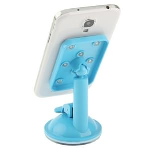 Universal Rotating Suction Cup Car Holder / Desktop Stand for Samsung Galaxy S IV / S III / i8190 / i9200, iPhone 5 & 5C & 5S(Blue)