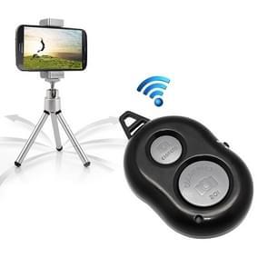 Bluetooth 3.0 Camera Remote Release Shutter Self-timer for iPhone 5 & 5C & 5S, iPad Air / mini, Galaxy Note III / N9000 / i9500 / i9300, Sony Xperia Z1 / L39h / L36h, Distance: 10m(Black)