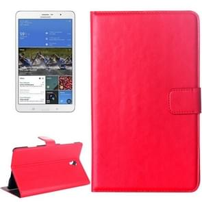 Crazy Horse Texture Flip Leather Case with Holder for Samsung Galaxy Tab S 8.4 / T700
