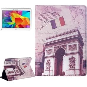 Triumphal Arch Pattern Flip Leather Case with Holder for Samsung Galaxy Tab S 10.5 / T800