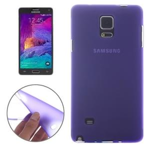 Double Frosted TPU Case for Samsung Galaxy Note 4(Purple)