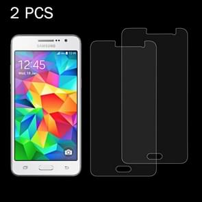 2 PCS for Samsung Galaxy Grand Prime / G530 0.26mm 9H Surface Hardness 2.5D Explosion-proof Tempered Glass Screen Film