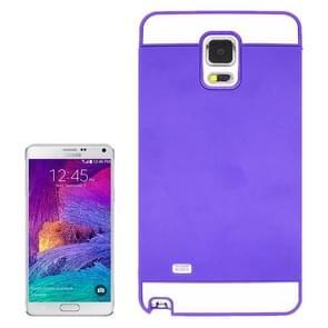 2 in 1 Hybrid TPU + PC Bumper Case for Samsung Galaxy Note 4(Purple)
