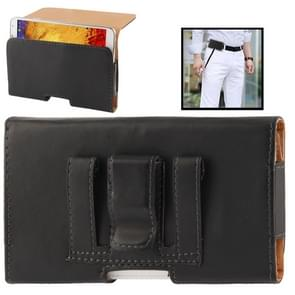 Wallet Style Leather Case with Belt Clip for Samsung Galaxy Note III / N9000 / N7100  (Black)