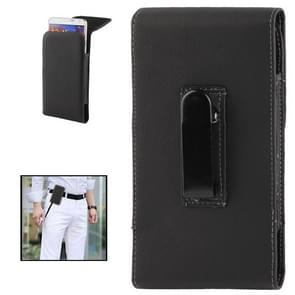 Litchi Texture Vertical Wallet Style Leather Case with Belt Clip for Samsung Galaxy Note III / N9000 / N7100(Black)