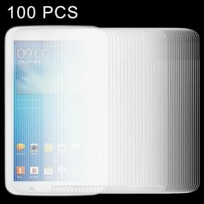 100 PCS 0.4mm 9H+ Surface Hardness 2.5D Tempered Glass Film voor Samsung Galaxy Tab 3 7.0 / T210 / T211 / T215