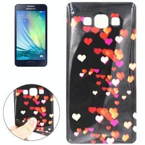 Heart Pattern TPU Case for Samsung Galaxy A3