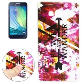 BE WILD AND WANDER Pattern TPU Case for Samsung Galaxy A3