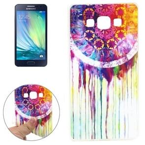 Watercolor Style Pattern TPU Case for Samsung Galaxy A3