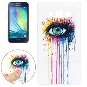 Eye Pattern TPU Case for Samsung Galaxy A3
