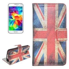 Retro UK Flag Pattern Flip Leather Case with Holder & Card Slots for Samsung Galaxy S5 / G900