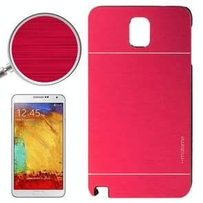 2 in 1 Brushed Texture Metal & Plastic Protective Case for Samsung Galaxy Note III(Red)