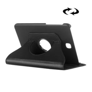 Litchi Texture 360 Degree Rotation Leather Case with multi-functional Holder for Samsung Galaxy Tab S2 8.0(Black)