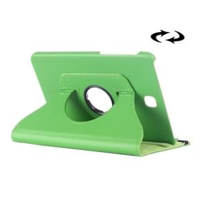 Litchi Texture 360 Degree Rotation Leather Case with multi-functional Holder for Samsung Galaxy Tab S2 8.0(Green)