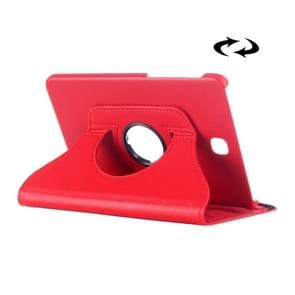 Litchi Texture 360 Degree Rotation Leather Case with multi-functional Holder for Samsung Galaxy Tab S2 8.0(Red)