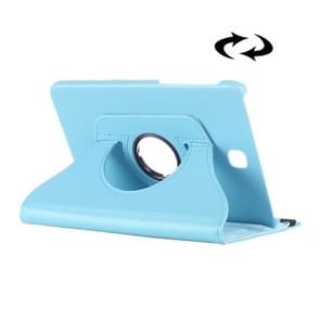 Litchi Texture 360 Degree Rotation Leather Case with multi-functional Holder for Samsung Galaxy Tab S2 8.0(Baby Blue)